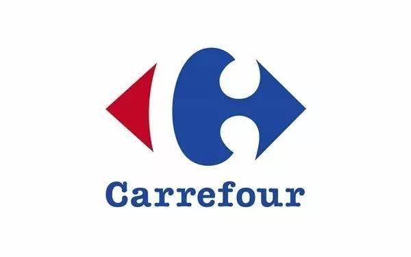 carrefour 家樂福 家樂福的標誌其實不僅僅是倆個雙向的箭頭 細細品味會發現 白色部分其實是標誌的首字母 c 紅白藍的搭配更是代表著法國國旗的顏色 marketing logo infographic marketing carrefour