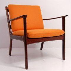 Ole Wanscher chair, mahogni