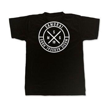 Samurai Music 'Labels' T Shirt