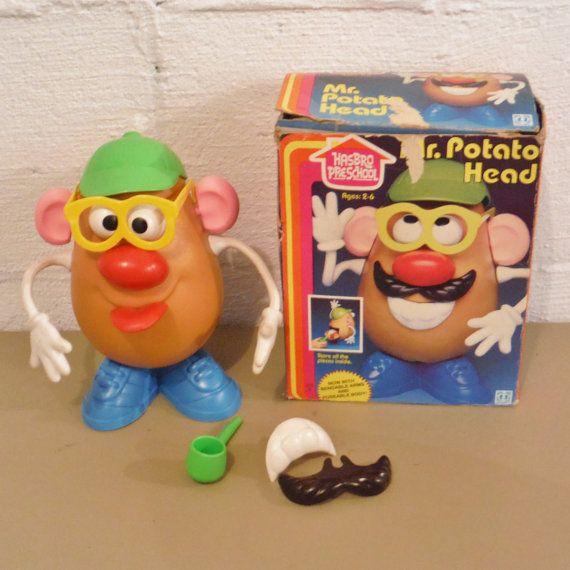 Vintage 80 S Mr Potato Head Mr Potato Head My Childhood Lunch Box