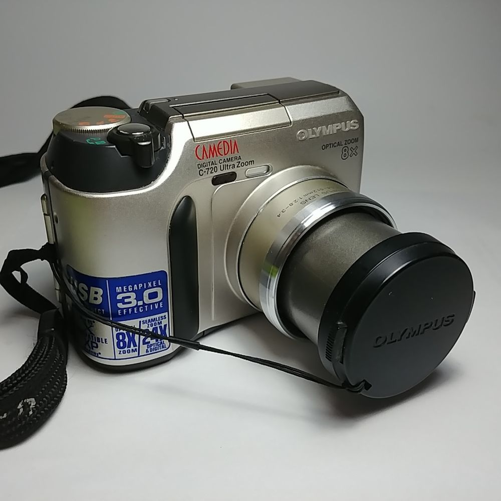 olympus camedia c 720 ultra zoom 3 0mp 8x optical zoom 1 5 lcd rh pinterest com au Kodak 3X Optical Zoom Manual Slow Shutter Zoom Manual