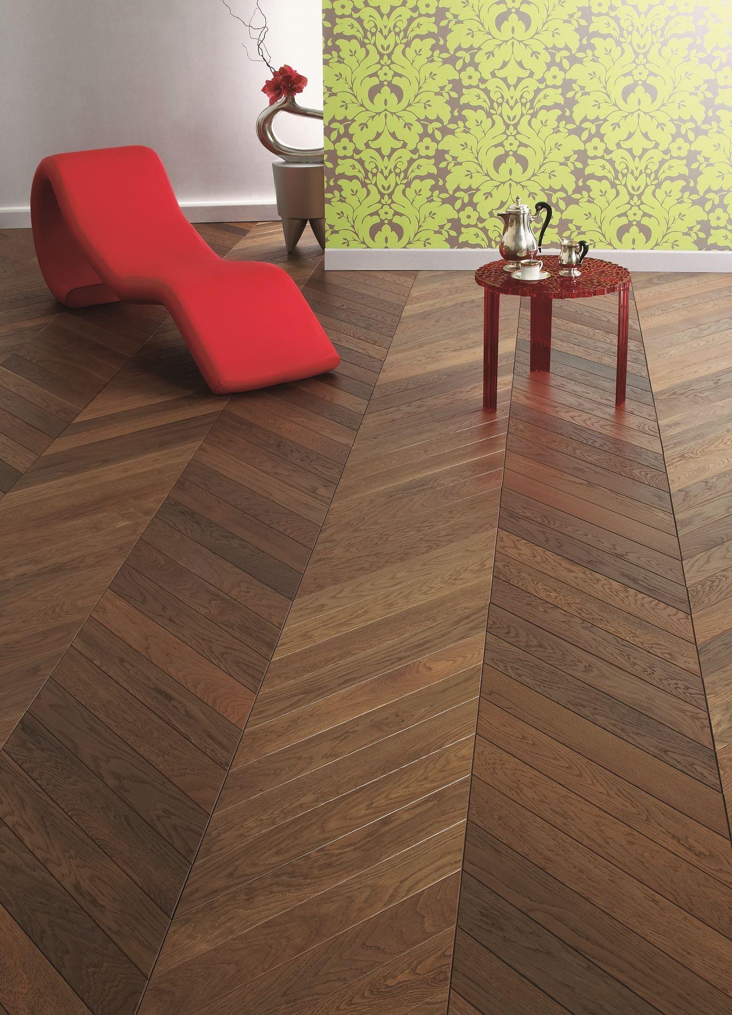 Chevron şıklığı... Solid wood flooring, Flooring