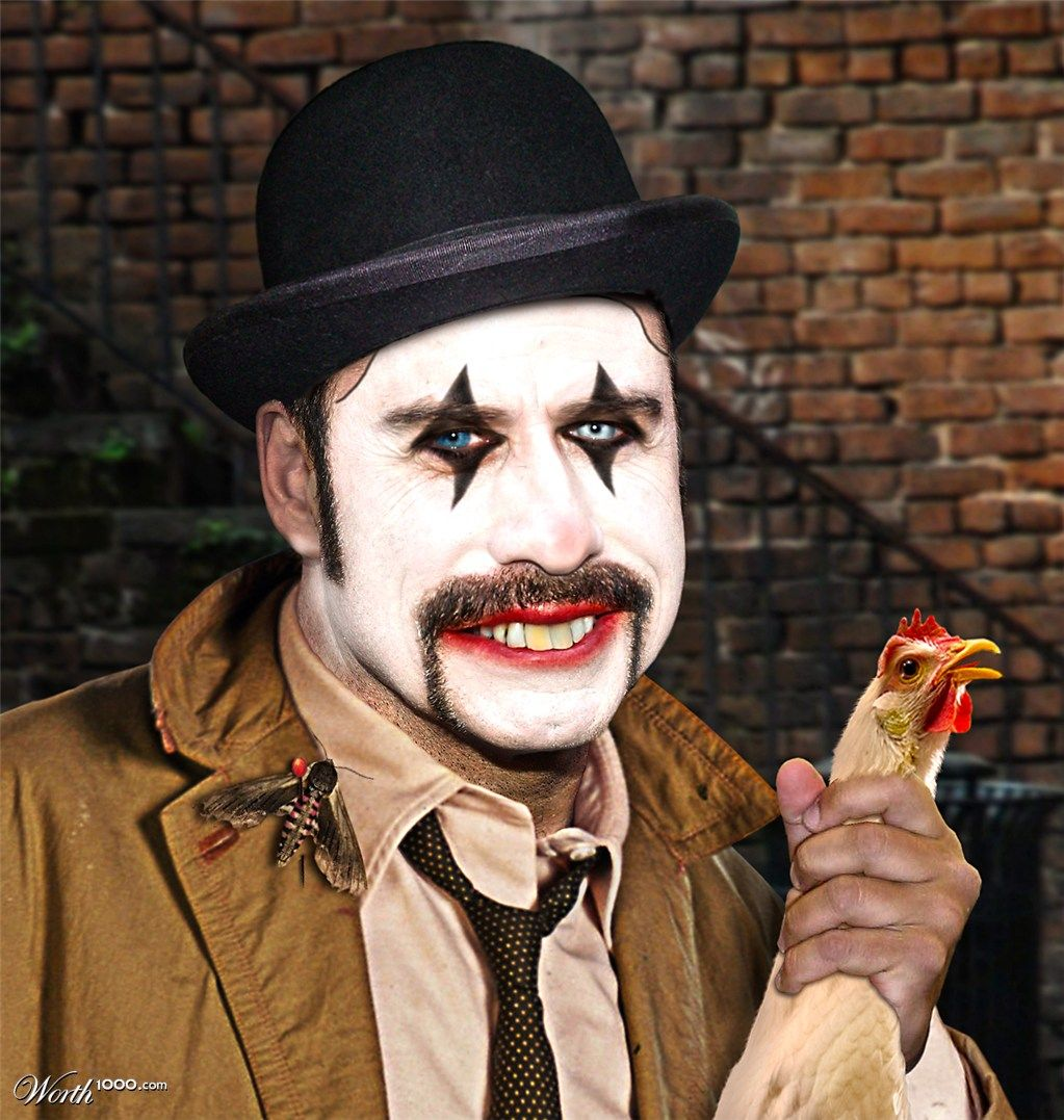 Submission for 'Evil Celebrity Clowns 4' Contest