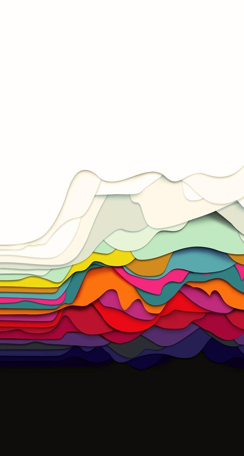 ecoregion, sky, line, colorfulness, illustration, geological phenomenon, iphone ...