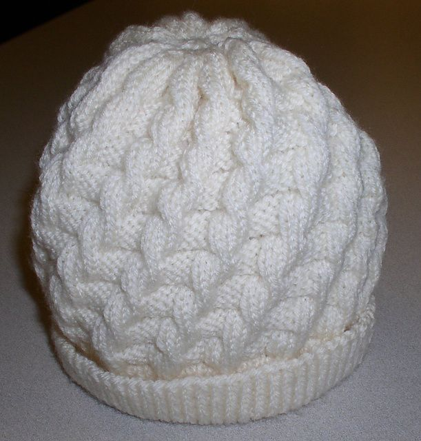 Ravelry: False Cable Hat pattern by Chris of Knit Happens | Hats ...