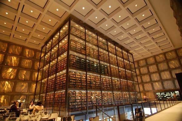 Biblioteca Beinecke, Estados Unidos