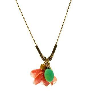 fijne gouden ketting groene opaal sieraden trends shoptip beadies 9straatjesonline