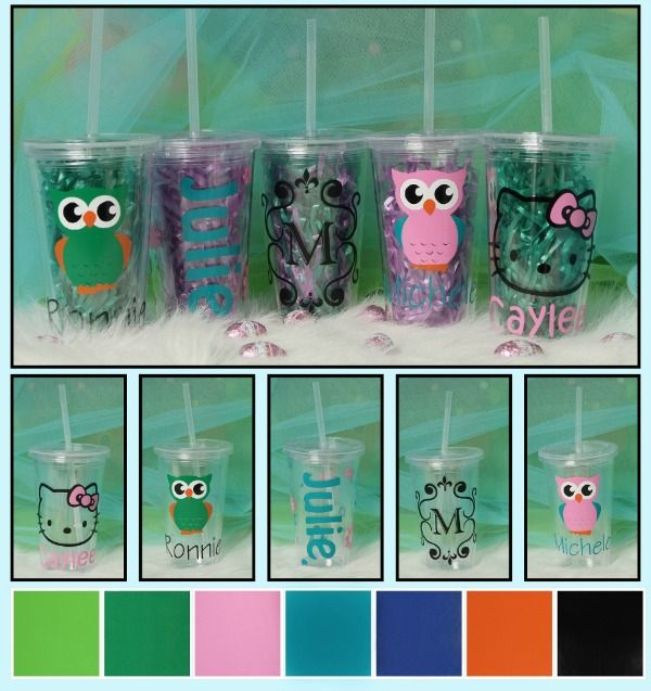 Fun personalized tumbler with straw deals by pinkepromise homemade christmas gifts fun personalized tumbler with straw deals by pinkepromise negle Gallery