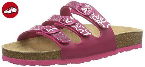 Bioline Sandal, Chaussons Bas Femme, Rose (Pink/Silber), 41 EULico