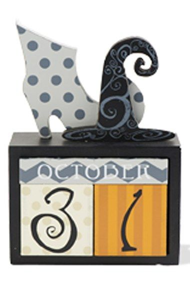 k k interiors halloween perpetual calendar available at nordstrom