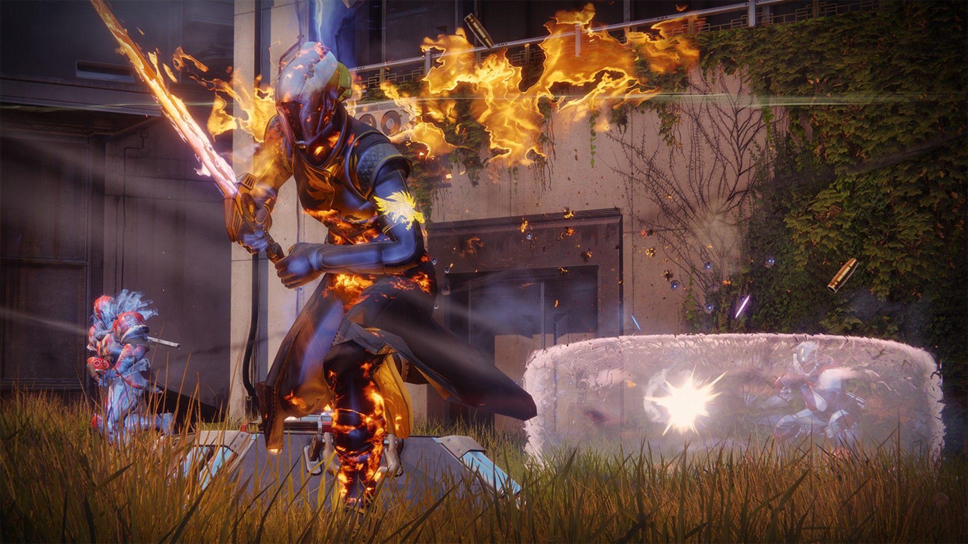 Destiny 2 Armor Fire Wallpaper Destiny, Live wallpapers