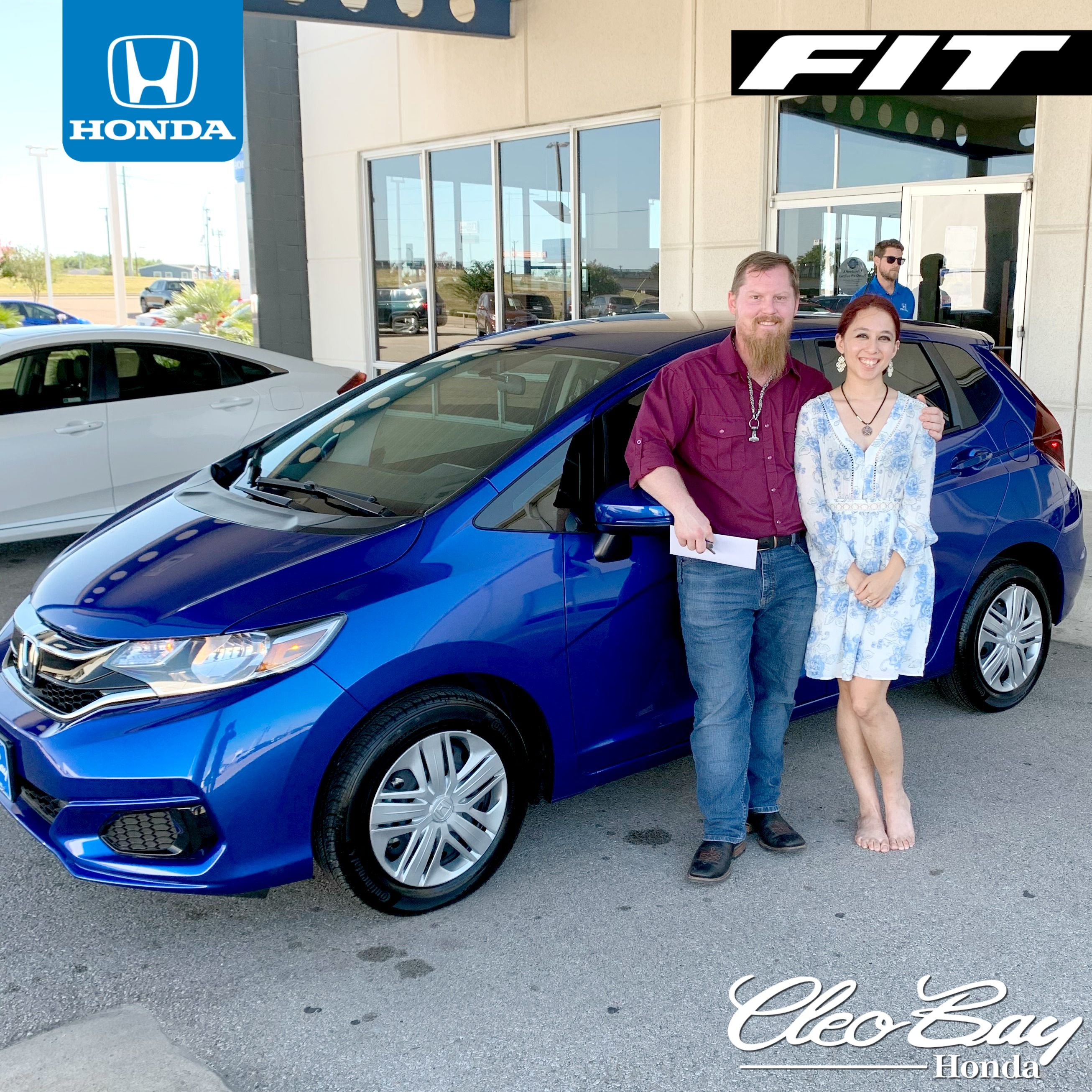 Congratulations Velada S On Your Recent Purchase Of A 2020 Honda Fit Lx Click The Pic To Check Out Our Complete Inventory Of In 2020 Honda Fit Honda Fit Lx New Honda