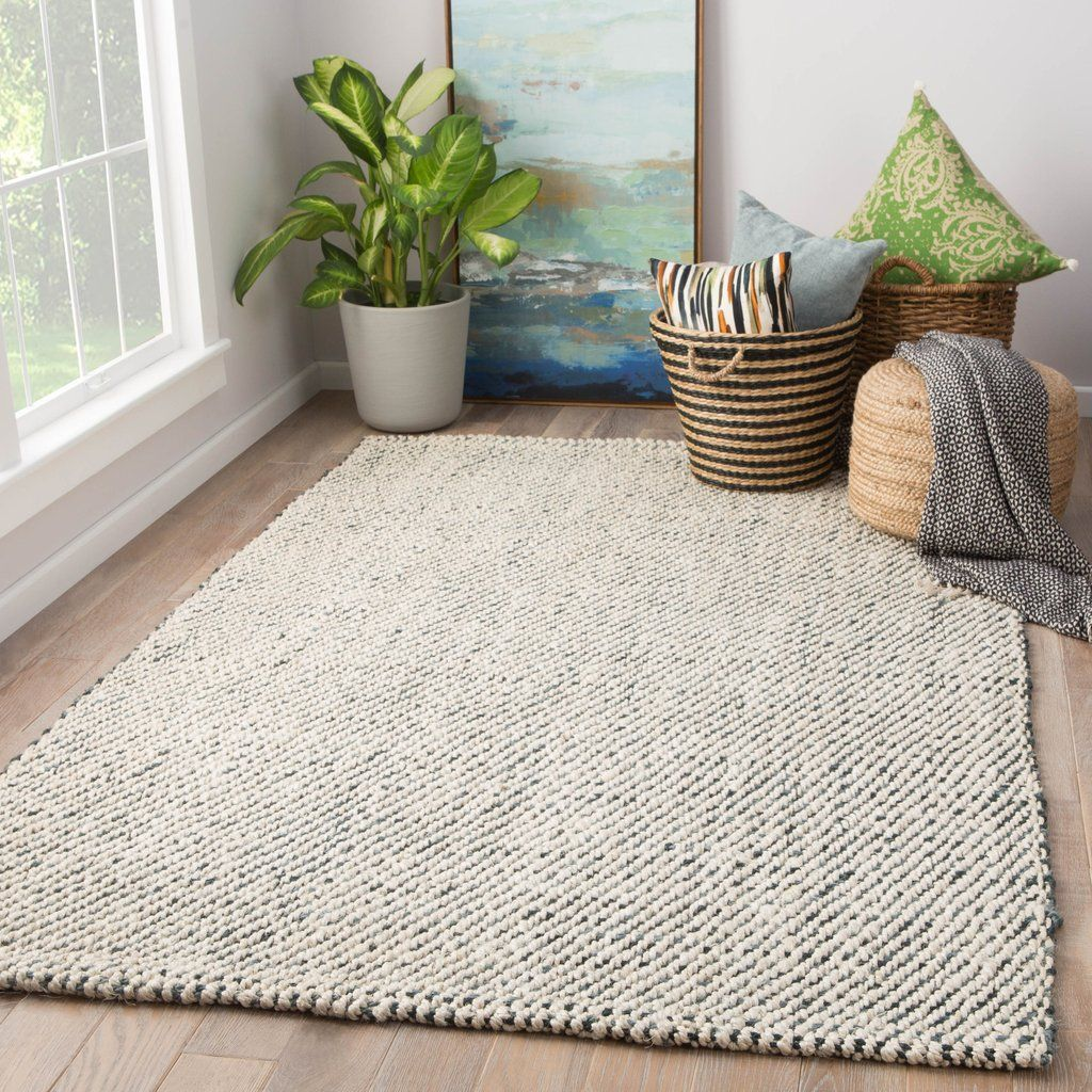 Almand Natural Solid White Gray Area Rug Area Rugs Grey Area Rug Jute Area Rugs