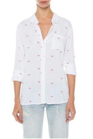Rails Rocsi Pink Flamingo Top