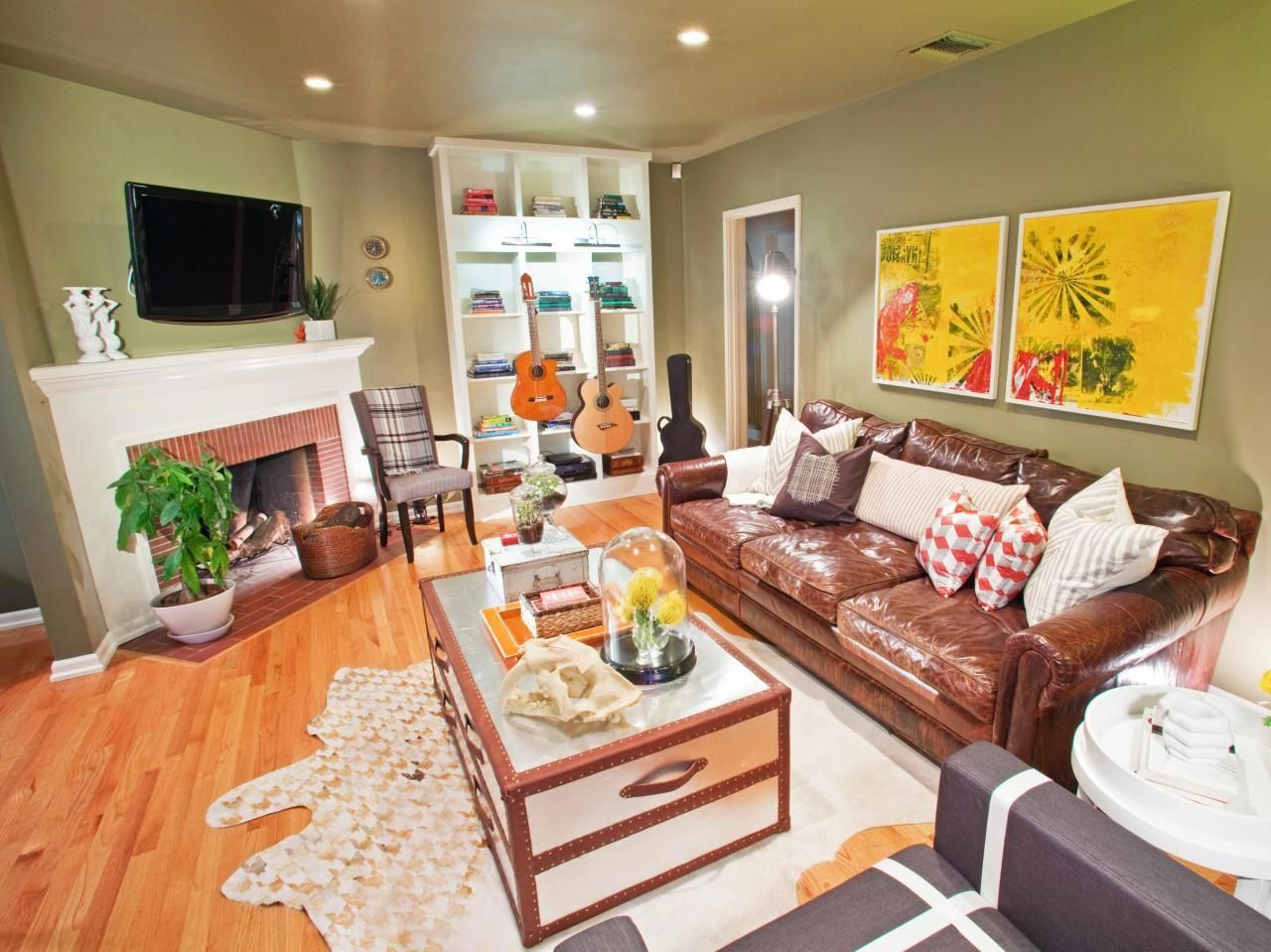 HGTV's Design on a Dime transformed this living room with ...