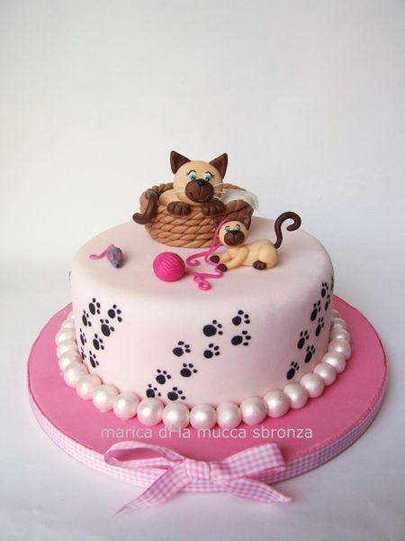 Rosie Cake Design : Rosie Cake-Diva Magazine Cat design cakes Pinterest ...