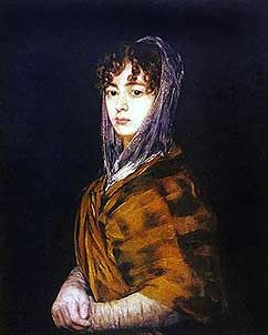Senora Sebasa Garcia - Francisco de Goya, 1746-1828 - OldMastersOnline.com