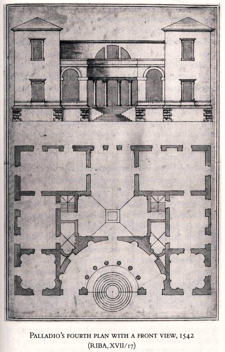 23 Palladio Villa Pisani Original Plan Not As Published In Quattro Libri Renaissance Architecture Architecture Drawing Architectural Prints