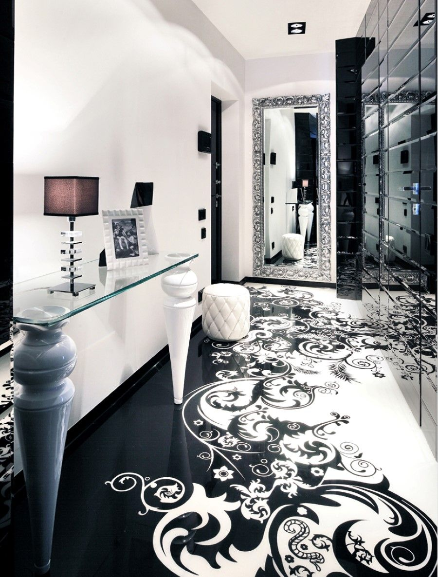 30 Black And White Decor Ideas For A Super Chic Space | Spaces ...