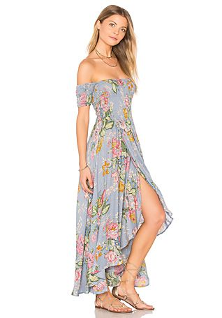 612cfb3532 Boheme Goddess Maxi Dress