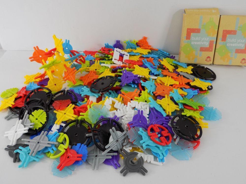 Wendy's Smart Links Huge Lot 340+ Pieces Building Toy