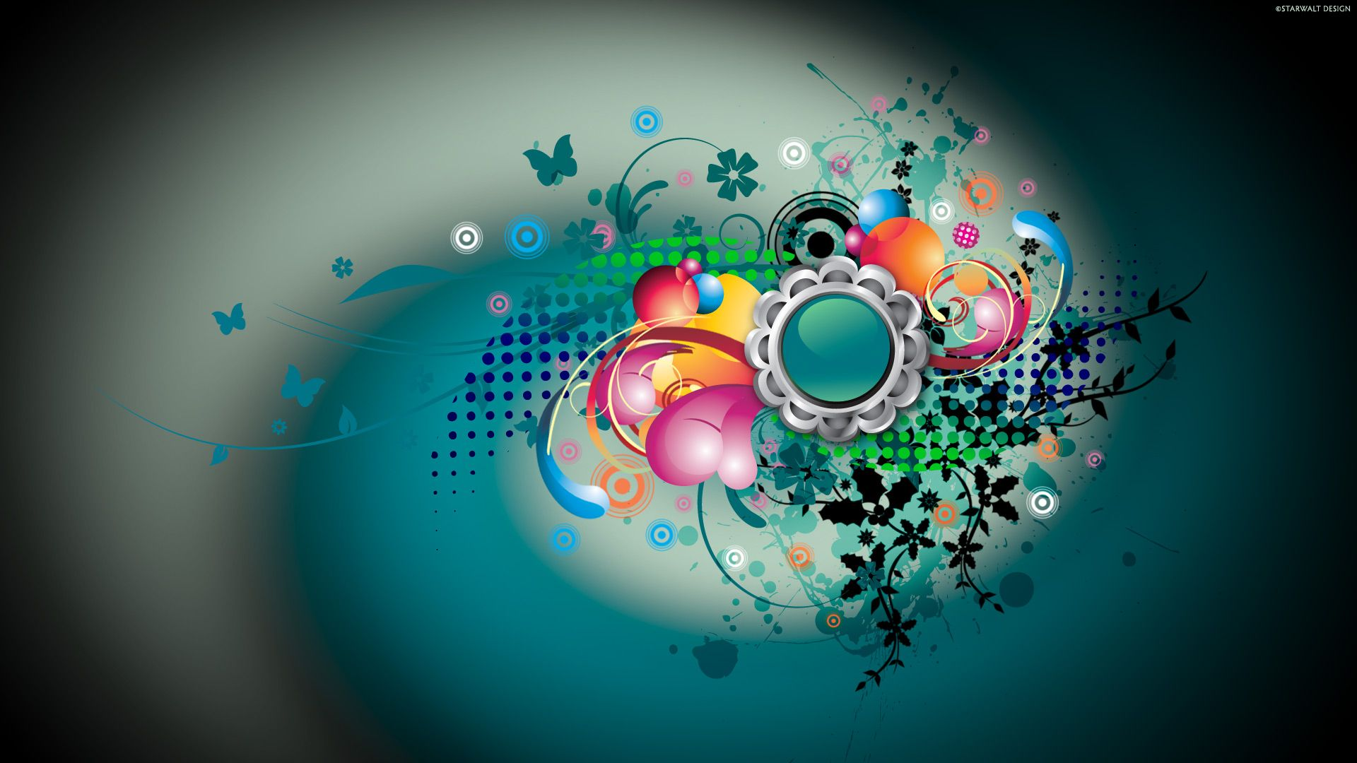 Hdtv Vector Designs Wallpapers Hd Wallpapers Desktop Wallpaper Design Graphic Wallpaper Vector Design