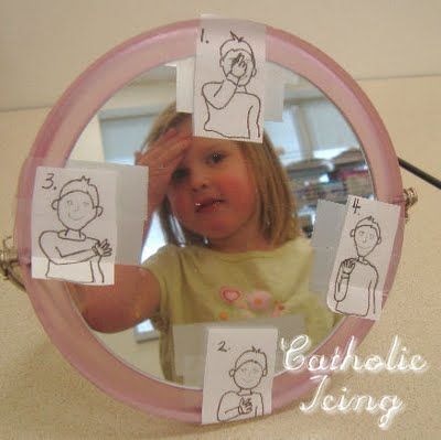 Teaching Kids to Make the Sign of the Cross