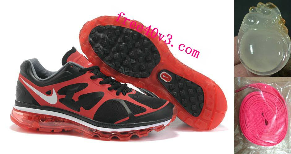 the best attitude abba3 e4e95 Mens Nike Air Max 2012 Red Black Shoes  Red  Womens  Sneakers