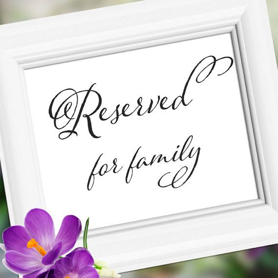 Reserved Custom Wedding Sign Decoration  Table by weddingfusion, $5.00