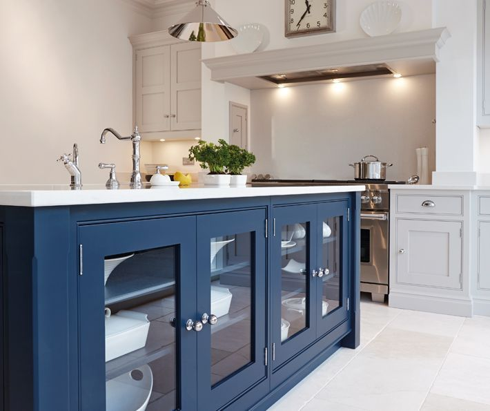 Bespoke Kitchen Design Painting blue painted kitchen  bespoke kitchens  tom howley | house