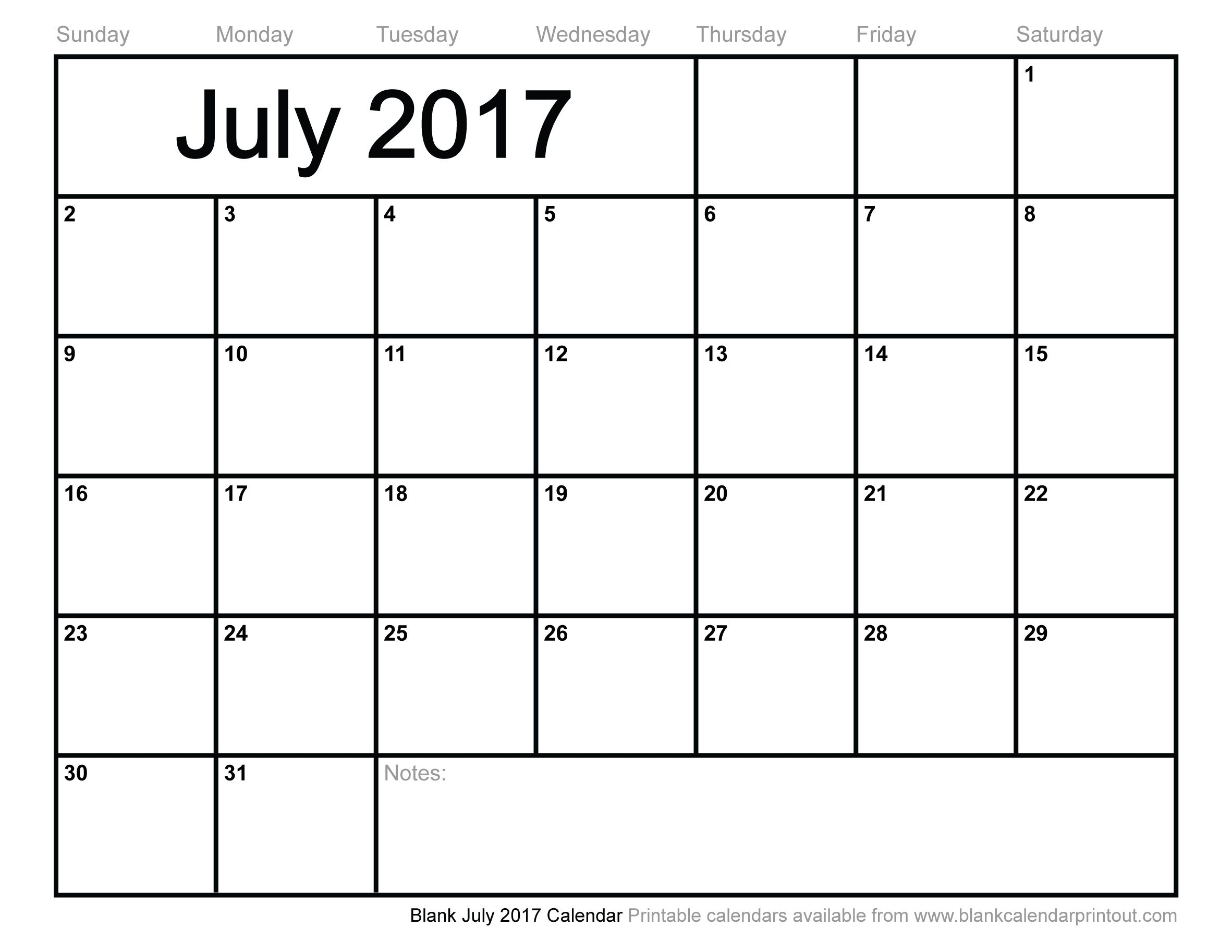 july 2017 calendar printable | calendar | pinterest | 2016 calendar