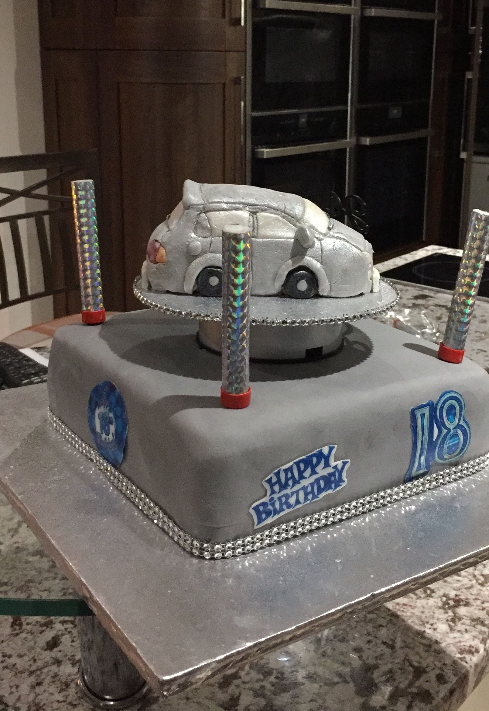 Suzuki Swift 18th Birthday Cake Birthday Cakes Pinterest 18th