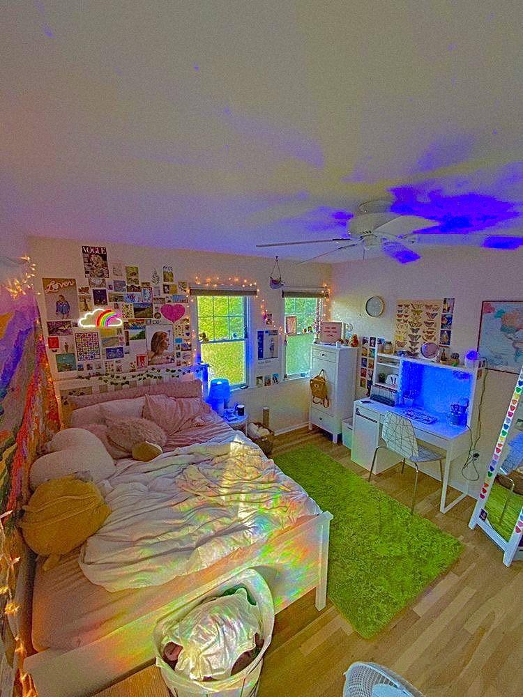 Bedroom Indie Room Decor Pinterest Room Decor Neon Room