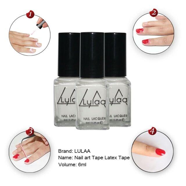 Specifics Item Type Nail Polish Brand Name Lulaa Quany 1000000 Ing Aqueous Health Net Wt 6ml Model Number Milky White L Off Liquid