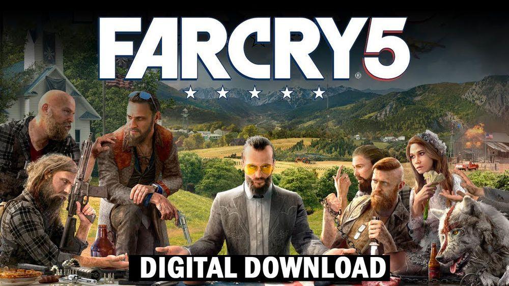 Far Cry 5 PC Uplay Digital Download (Region Free)   Win 7