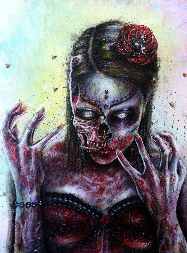 Dead girl by INK