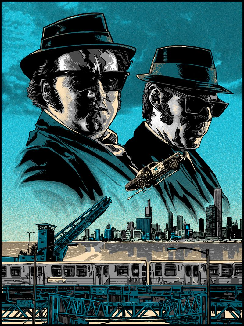 The Blues Brothers by Tim Doyle * Posters Pinterest