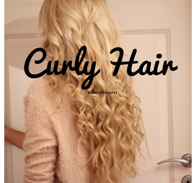 I want my hair to curl like this