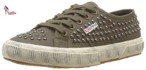 2754 Cotu, Sneakers Hautes mixte adulte-Blanc 40 EUSuperga