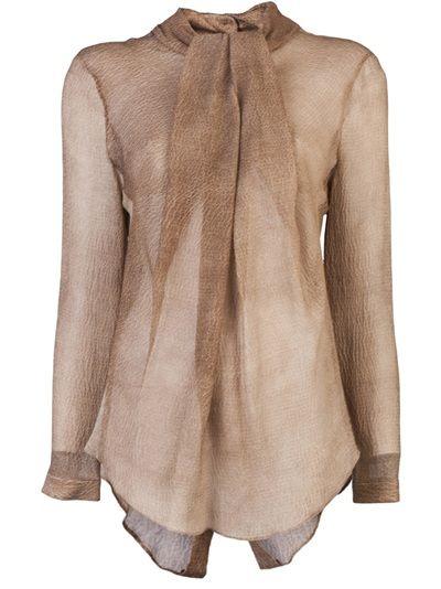 CARVEN - Silk blouse