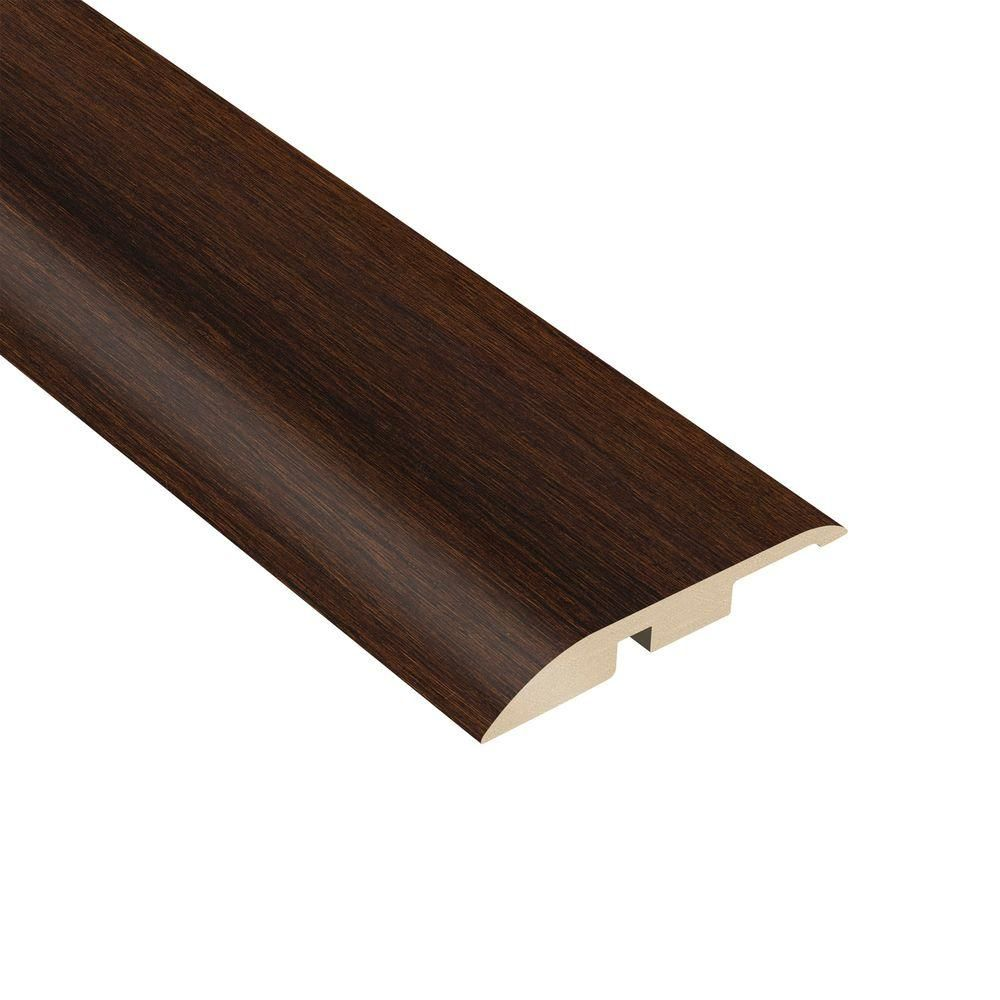 Java 3 8 In Thick X 1 3 4 In Wide X 94 1 2 In Length Vinyl Multi Purpose Reducer Molding Java Brown Home Depot Purpose Java