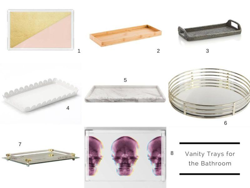 the vanity tray the bathroom accessory you never thought you needed - Bathroom Accessories Vanity Tray