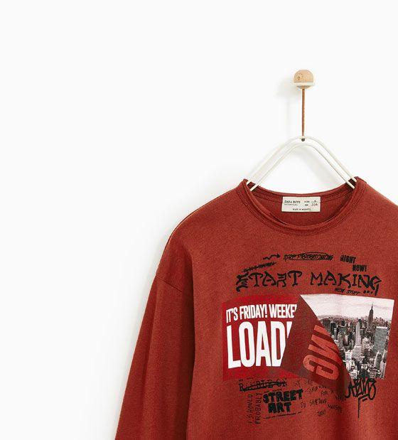 Imagem 2 de T-SHIRT CIDADE da Zara