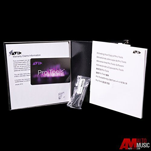 Avid Pro Tools 12 Activation Card (Open Box – Unregistered