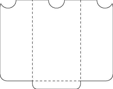 3 5 pocket envelope template – Envelope Template