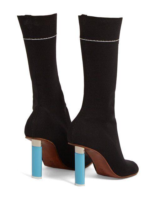 Vetements Lighter-heel sock ankle boots Genuine lMBjJTVz