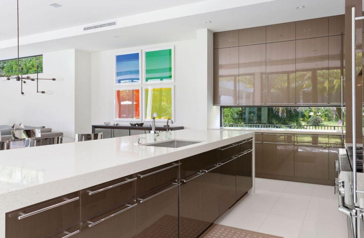 Dura Supreme Contemporary Kitchen With Talia Door Style  Dura New Contemporary Style Kitchen Cabinets Decorating Inspiration