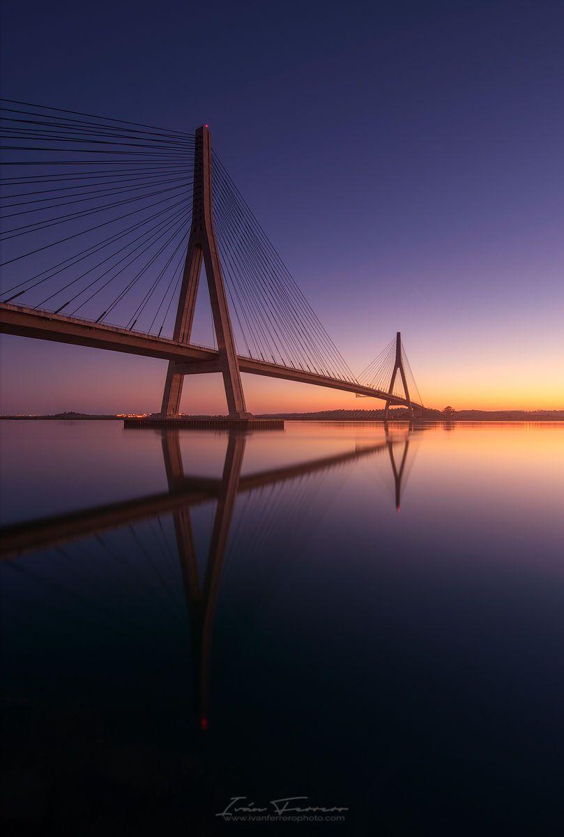 Puente Internacional del Guadiana II / 500px