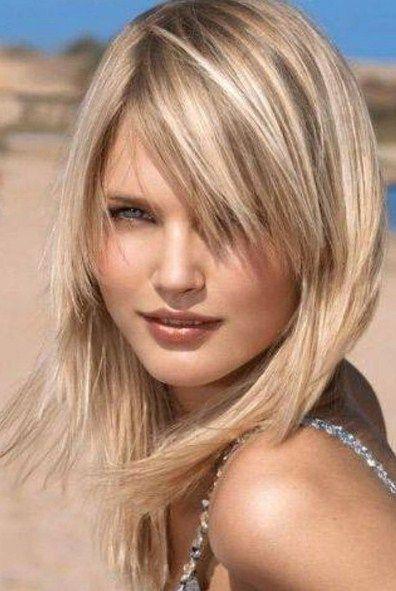 Frisuren schulterlang dunnes haar