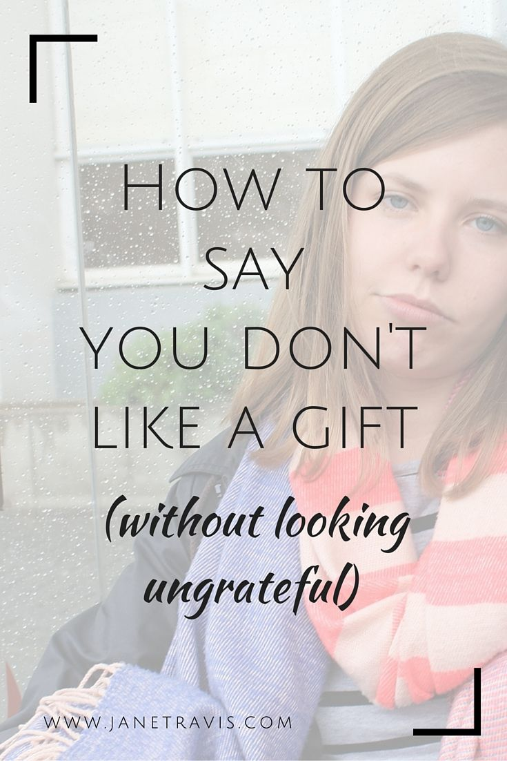 Watch How to React to a Gift You Do Not Like video
